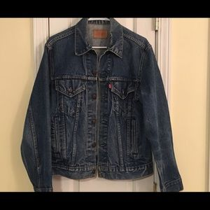 Levi's authentic jean jacket